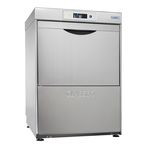 Classeq Glasswasher G500 DUO with Integral Water Softener Stainless Steel