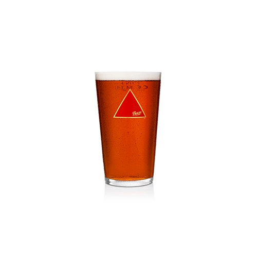 Bass Beer Glass 57cl Clear