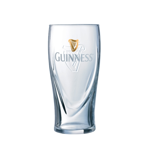 Guinness Toughened Beer Glass 57cl  Branded