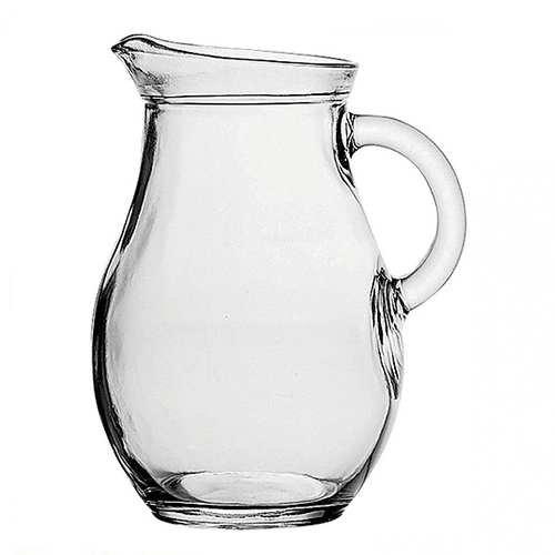 Utopia Bistro  Glass Jug 0.5Ltr  Clear