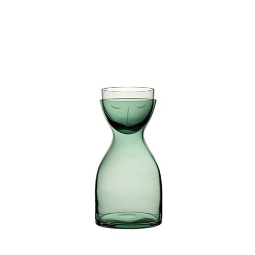Utopia Nude Glass Mr & Mrs Night Set 30oz Green