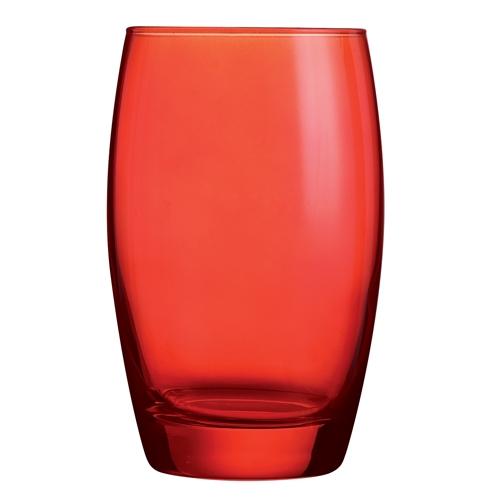 Arcoroc Salto Colour Studio Hiball Tumbler 35cl Red