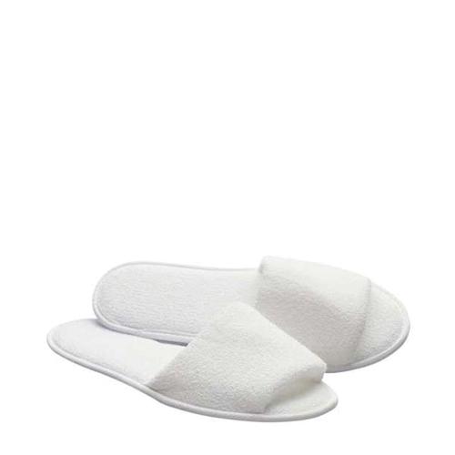 Open Toe  Slippers 27.9cm White