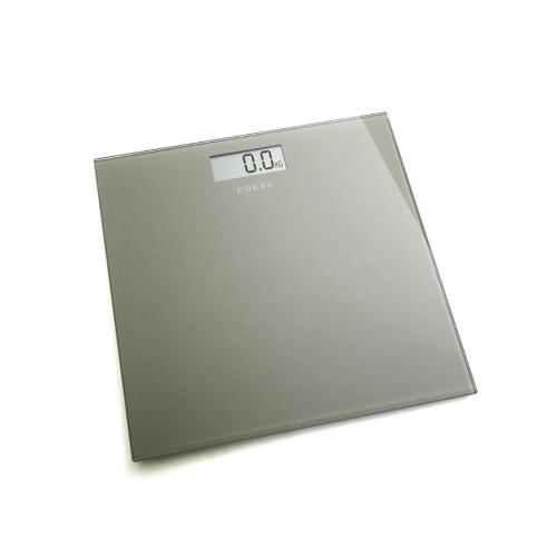 Digital  Bathroom Scales 30cm x 30xcm x 6.8cm Black