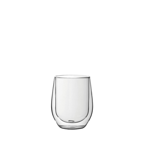 Utopia Double Walled DOF Coffee Glass 33cl Clear