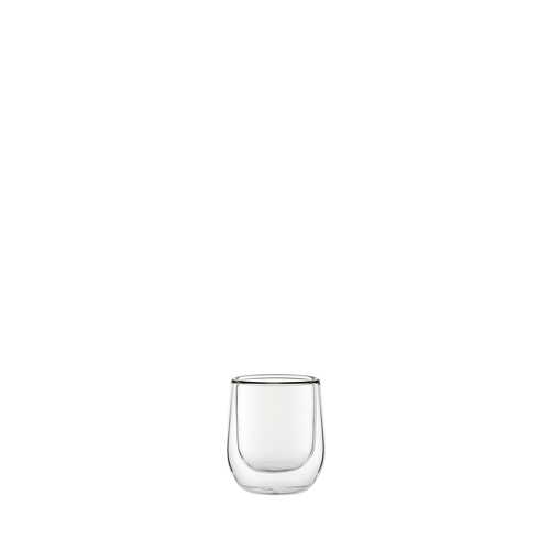 Utopia Double Walled Espresso Glass 8.5cl Clear