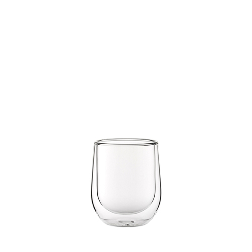 Utopia Double Walled Latte Glass 27cl Clear