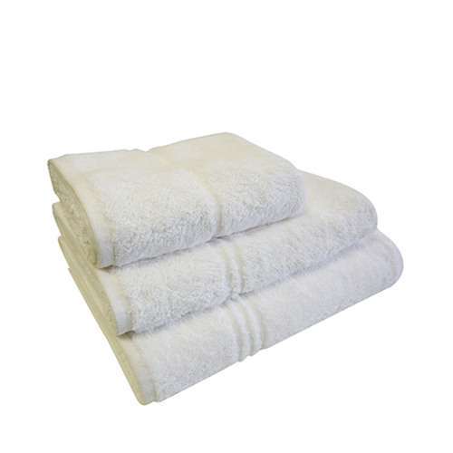 Eco Knit 450gsm Hand Towel 50 x 90cm White
