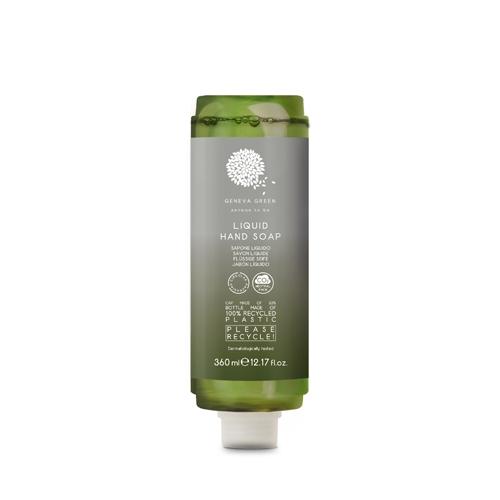 Geneva Green Liquid Soap Cartridge Dispenser 360ml