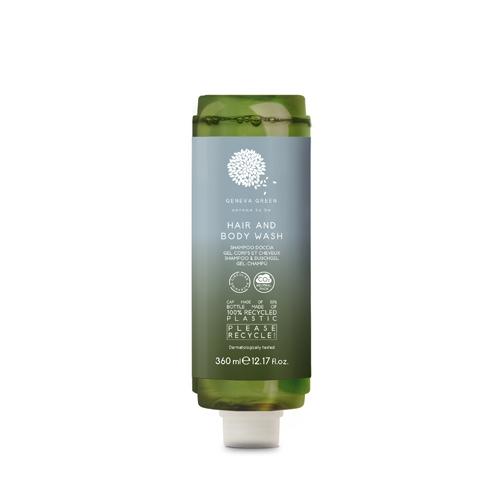 Geneva Green Hair & Body Cartridge Dispenser 360ml