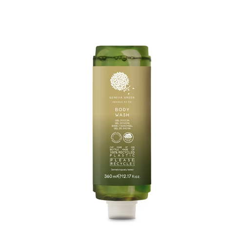 Geneva Green Body Wash Cartridge Dispenser 360ml