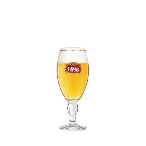 Stella Artois Chalice Beer Glass 28cl Branded