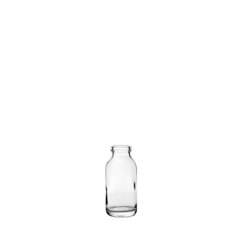 Utopia Mini Milk Bottle 12cl Clear