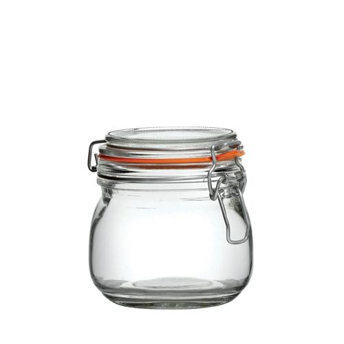Utopia Glass Preserving Jar 0.5 Ltr Clear