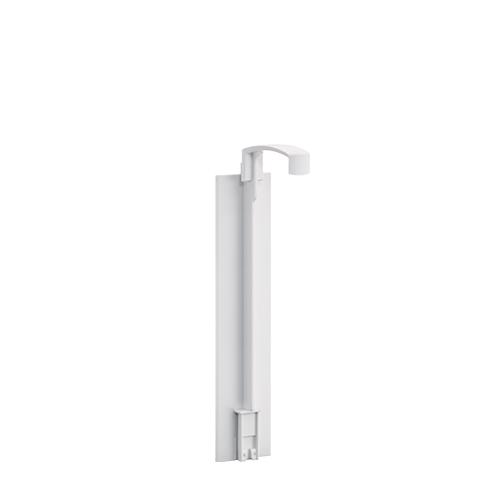Smart Care Dispenser Single Self Adhesive Matt Chrome