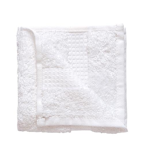 Face Cloth/Flannel 30x30cm White