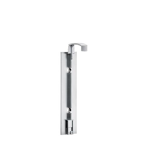 Smart Care Dispenser Single Screw Fitting Matt Chrome