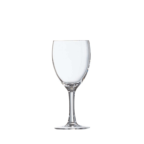 Arcoroc Elegance Wine Glass 24.5cl LCE@175ml Clear
