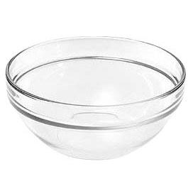 Arcoroc Saladier Stacking Glass Bowl 23cm