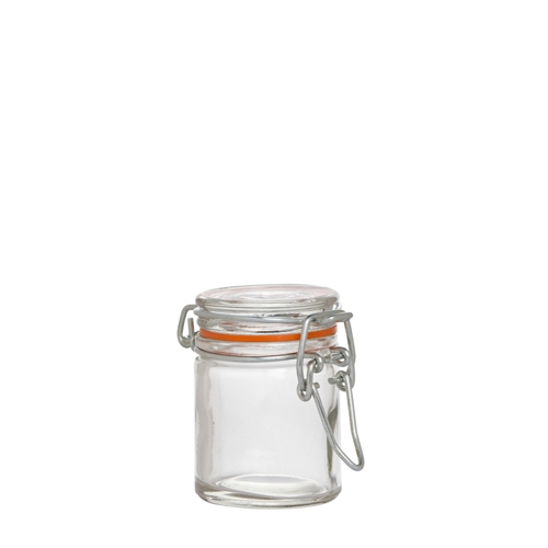 Utopia Airtight  Terrine Glass Jar 50ml Clear
