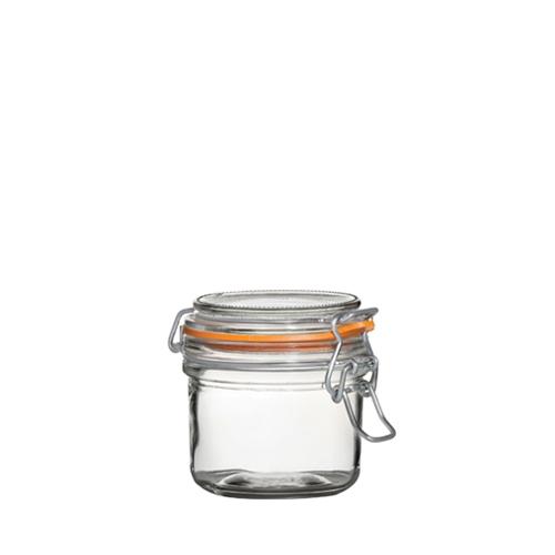 Utopia Airtight Terrine Glass Jar 125ml Clear