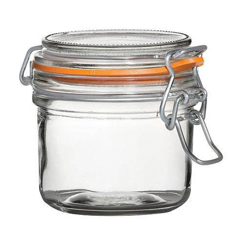 Utopia Airtight Terrine Glass Jar 200ml Clear
