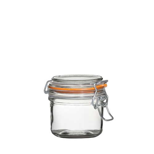 Utopia Airtight Terrine Glass Jar 200ml Clear