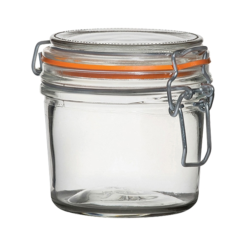 Utopia Airtight Terrine Glass Jar 350ml Clear