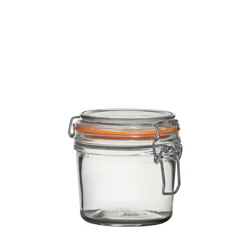 Utopia Airtight Terrine Glass Jar 350ml Clear