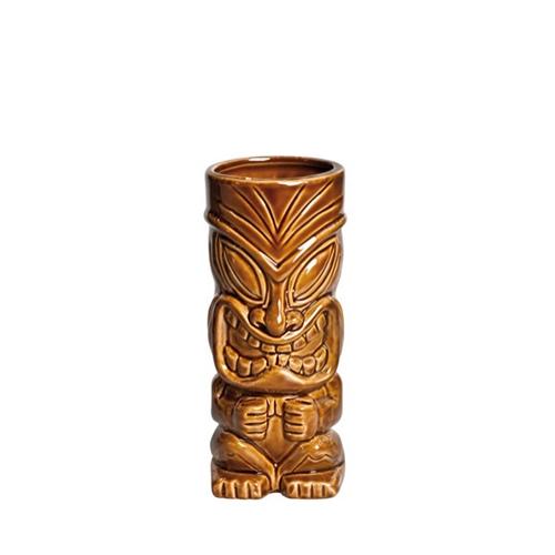 Artis Hua Kai Tiki Cocktail Mug 42cl Brown