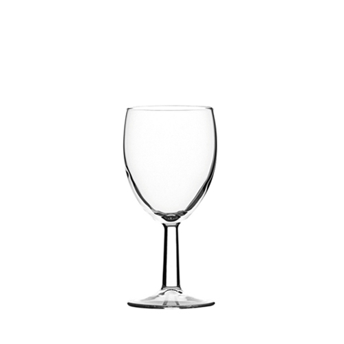 Utopia Saxon Toughened  Wine Glass 7oz LCE@125ml  Clear