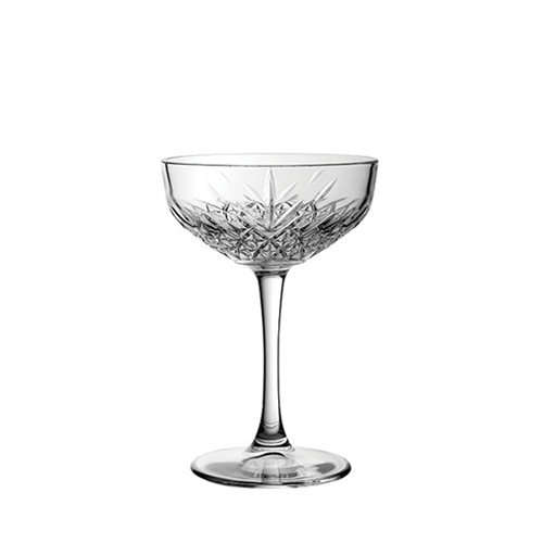 Utopia Timless Vintage Coupe Glass 9.5oz Clear