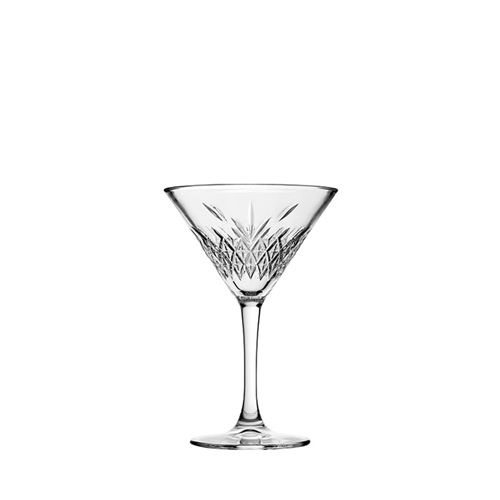 Utopia Timeless Vintage Martini Glass 8oz Clear