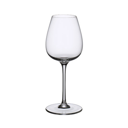 Villeroy & Boch Purismo Crystal Intricate & Delica Red Wine Goblet 19.75oz Clear
