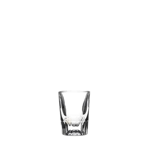 Artis Fluted Shot Glass 5.7cl LCE @ 2.8cl Clear
