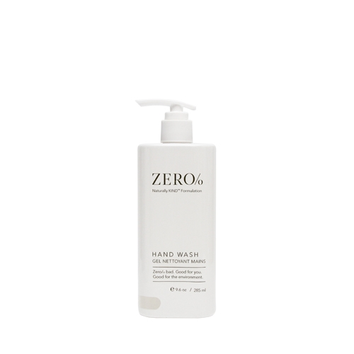 Zero % Liquid Soap Pump Bottle 300ml