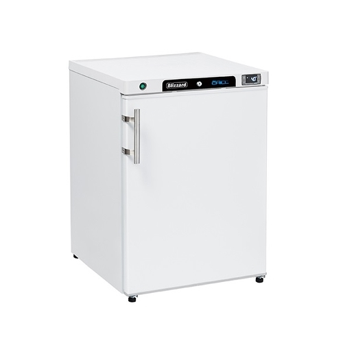 Blizzard Undercounter Freezer White L200WH