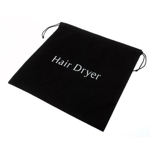 Hairdryer Bag 35.5 x 35.5cm Black