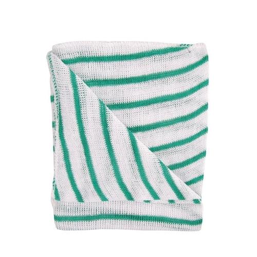 Stockinette Striped Dishcloth