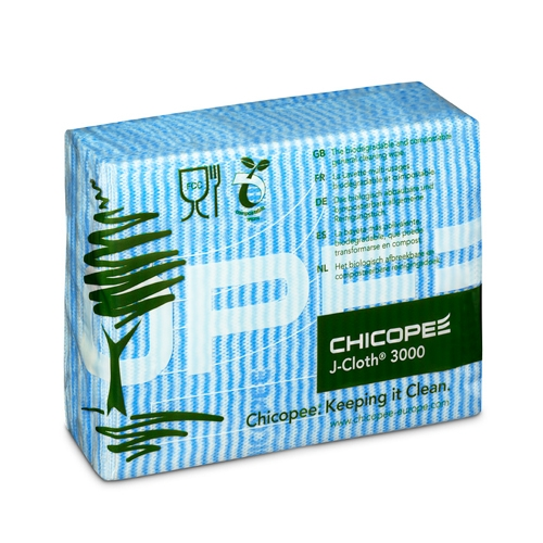 Chicopee  J-Cloth 3000 Compostable Cloth Blue
