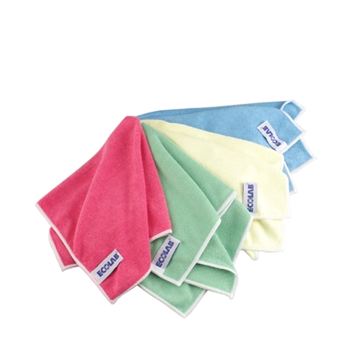 Ecolab Polifix Micro Clin Eco Cloth 32 x 32cm Green