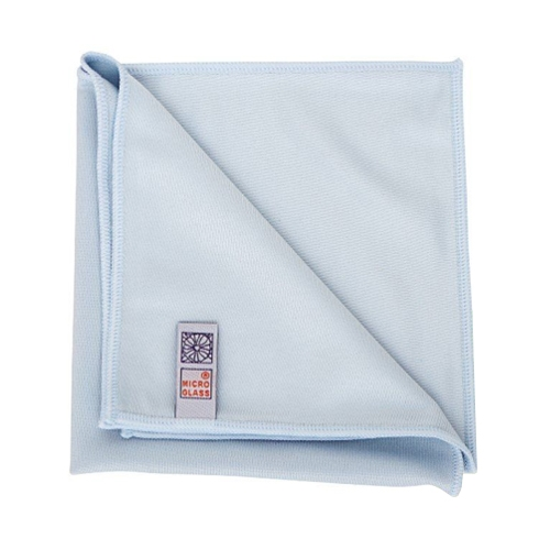 Micro Glass Cleaning Cloth Blue