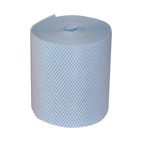 Budget  Perforated Cloth Roll 25cm x 25cm Blue