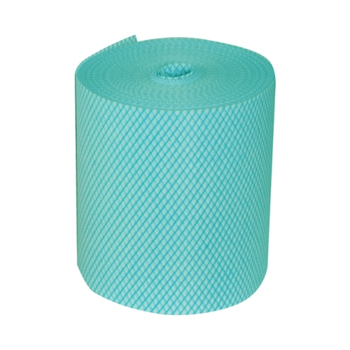 Budget  Perforated Cloth Roll 25cm x 25cm Green