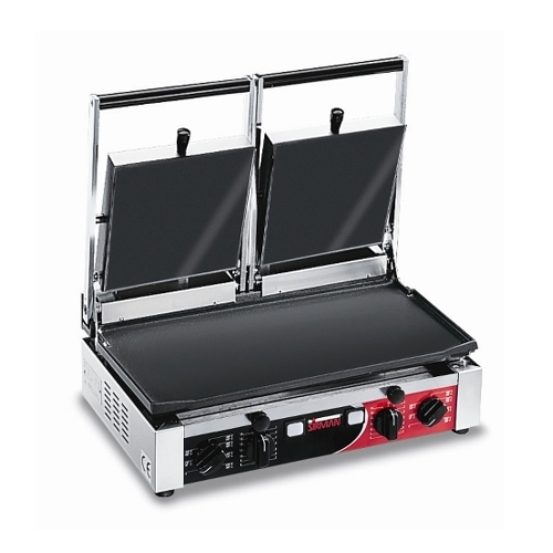 Sirman Double Panini Grill Flat Surface PD LL-LL T Stainless Steel