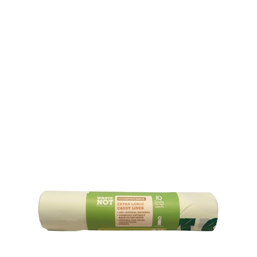 Compostable Waste Sack 35Ltr Green