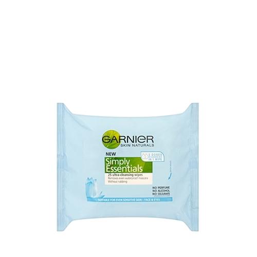 Garnier Facial Cleansing Wipes 25 wipes per pack