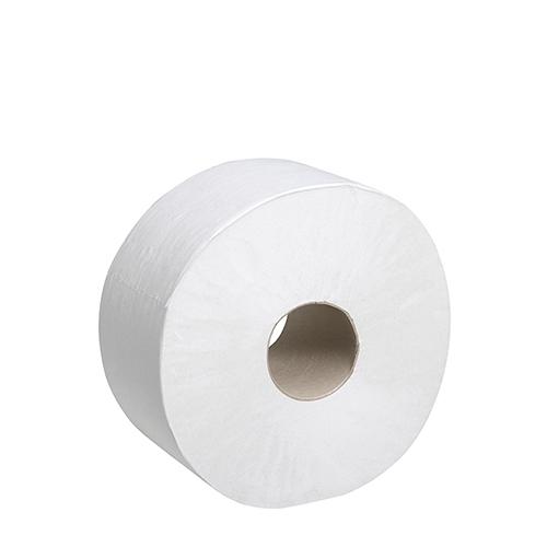 Scott Mini Jumbo 2 Ply Toilet Roll 60mm Core  White