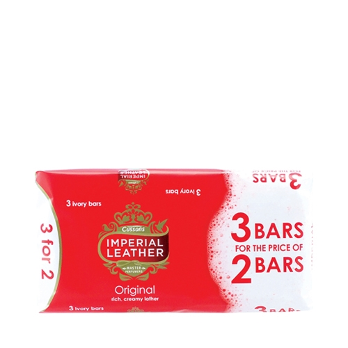 Imperial Leather Gentle Care Soap Bar 3 x 100g bars per pack