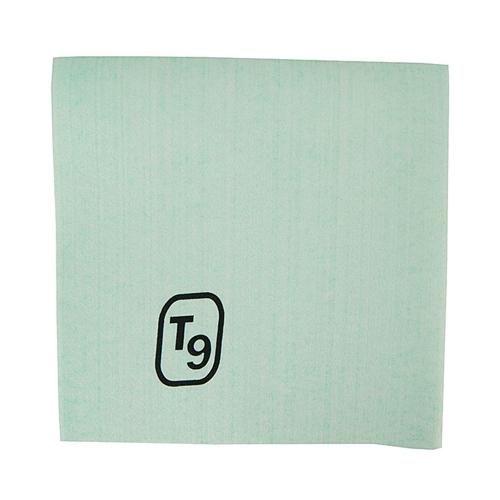 T9 Disposable Microfibre Cloth 40 x 40cm Green